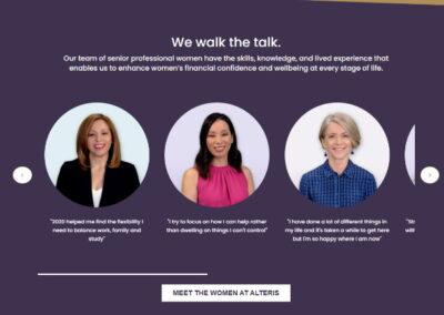 Client Spotlight: Alteris Women